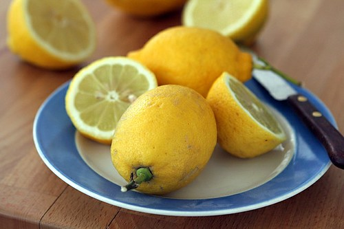 french lemons for yogurt cake
