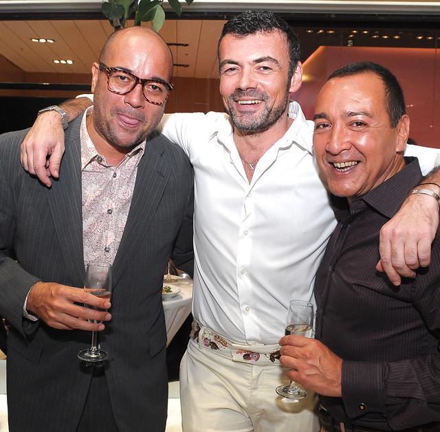 Alvaro Pertierra, Xavier Btesh, Frank Ordonez