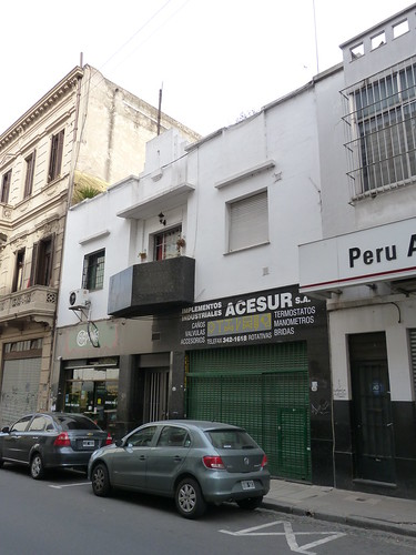 Art Deco building in San Telmo