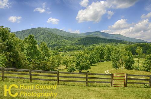 mountains landscapes va roseland hdrversion