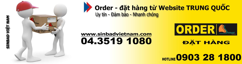 Dịch vụ order – đặt hàng Quảng Châu – đặt hàng Trung Quốc chuyên nghiệp