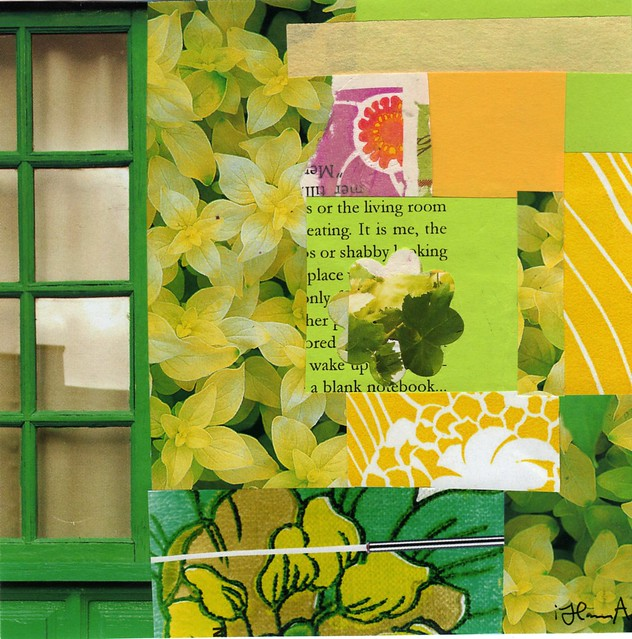 Collage: In His Window