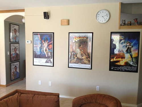 living room movie posters by Digital Heather