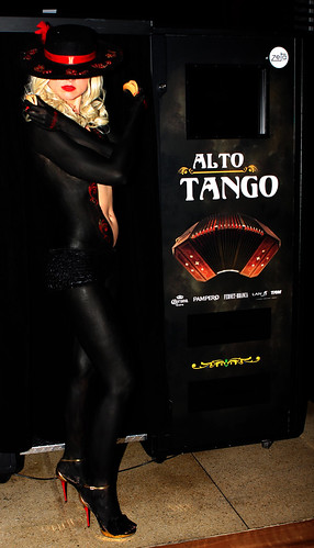 Alto Tango Bodypainting Zeta Bar by Eva Rinaldi Celebrity and Live Music Photographer