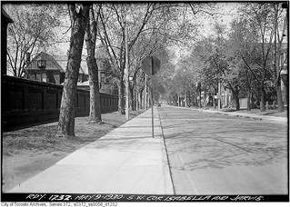 South-west corner, Isabella and Jarvis streets