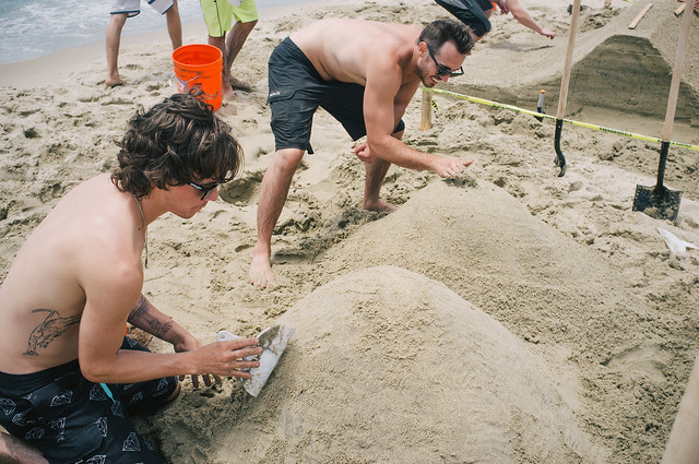 Vans Sand Castle Shop Battle @ Huntington Beach