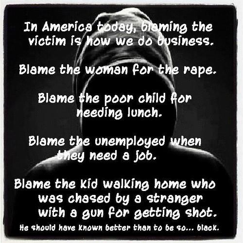 trayvon blame