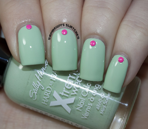 Sally Hansen Mint Sorbet (2)