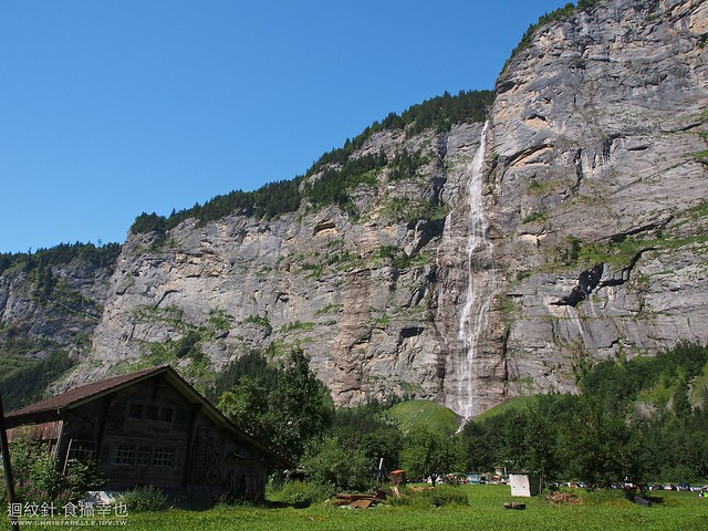 hiking from Stechelberg to Lauterbrunnen