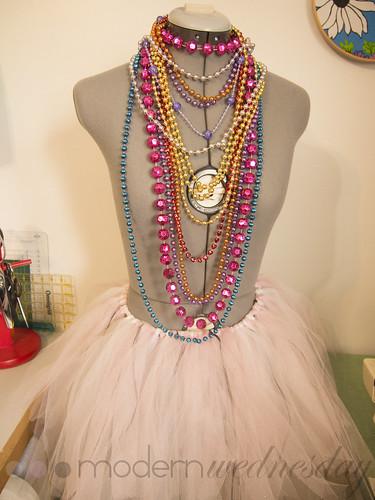mardi gras dress form