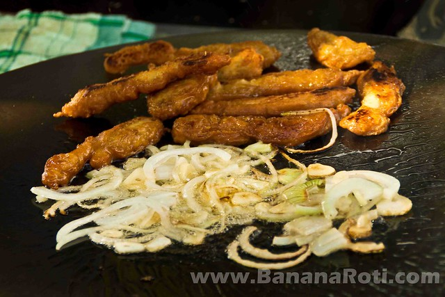 $1.25 Chicken Baguette Sandwich in Vang Vieng