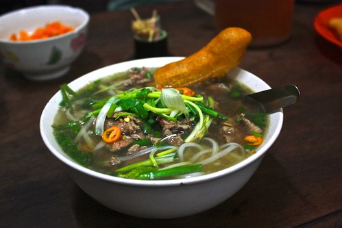 Delicious Pho Bo at 49 Bat Dan
