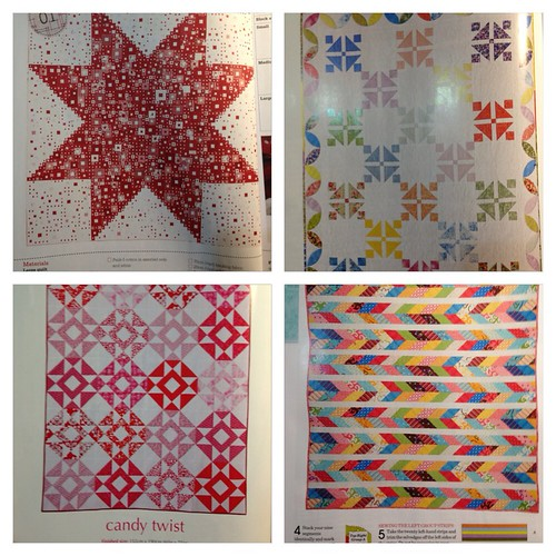 Yummy quilts. Need more time in my day!