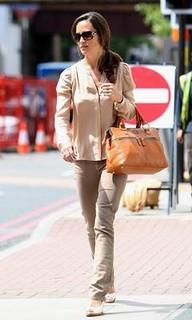 Pippa Middleton Beige Jeans Celebrity Style Women's Fashion