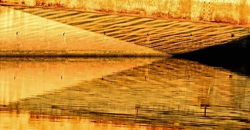park bridge light abstract reflection geometric reflections nikon northcarolina raleigh lakejohnson photobenedict