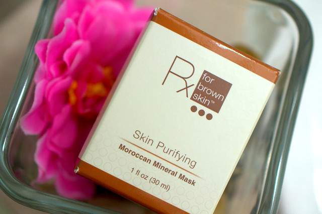 Rx for Brown Skin's Purifying Moroccan Mineral Mask