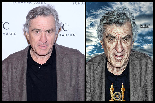 De Niro BEFORE and AFTER