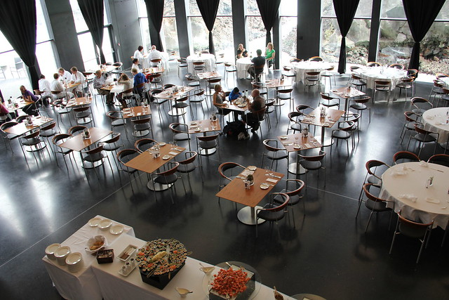 Lava Restaurant, Blue Lagoon, Reykjanes Peninsula, Iceland, 2013