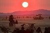 Sunrise at Burning Man 2013