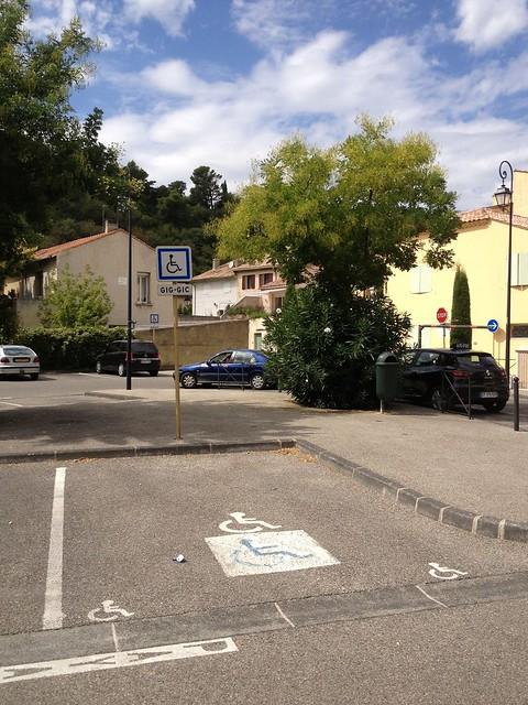 place handicap parking colbert orange fr84 flickr photo sharing. Black Bedroom Furniture Sets. Home Design Ideas