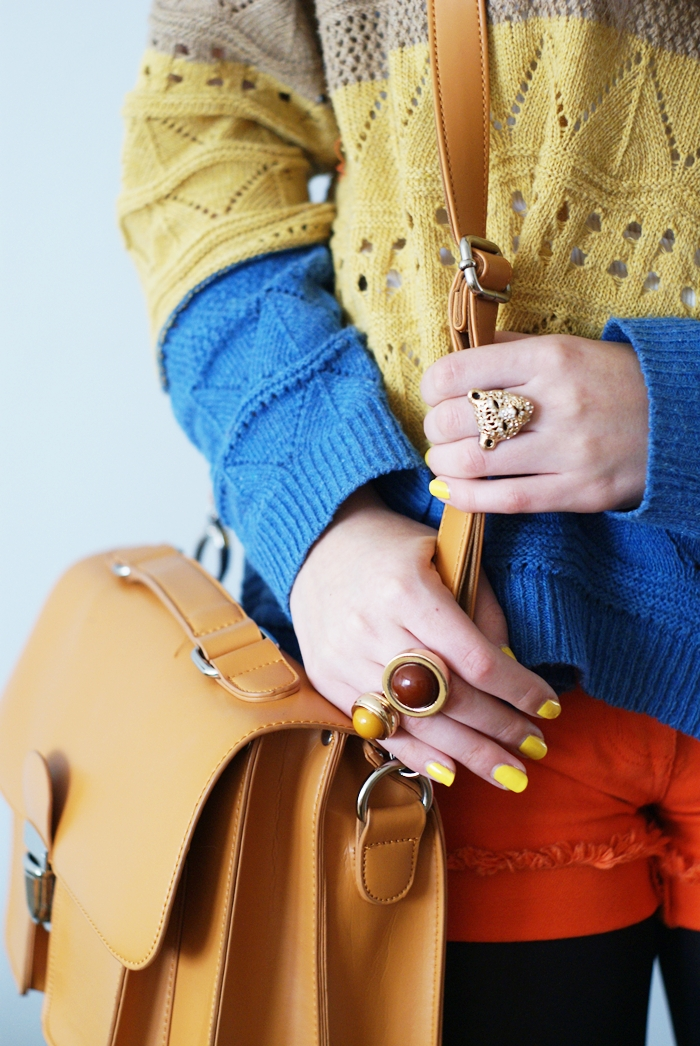 wiosenne kolory stylizacja