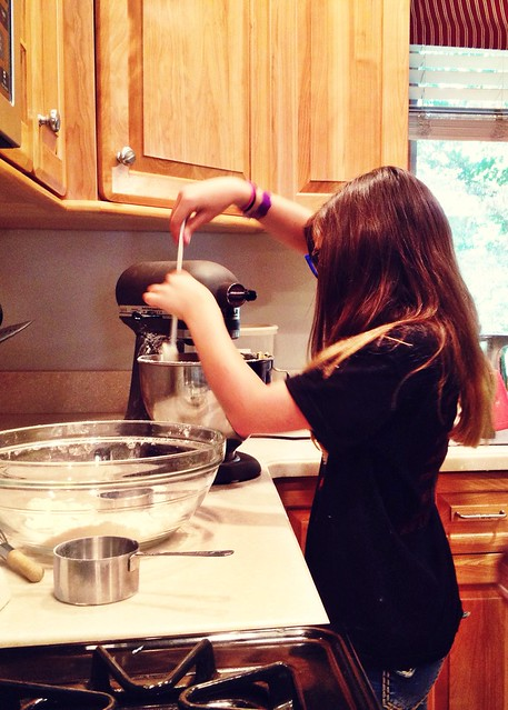 Tweens in the kitchen