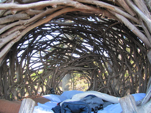 Human Nest at Treebones Resort