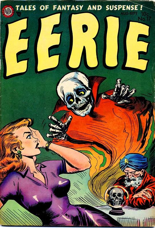 avon comics eerie 17 horror