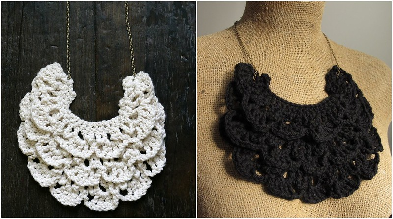 Crochet Patterns Necklace : Crochet Pattern: