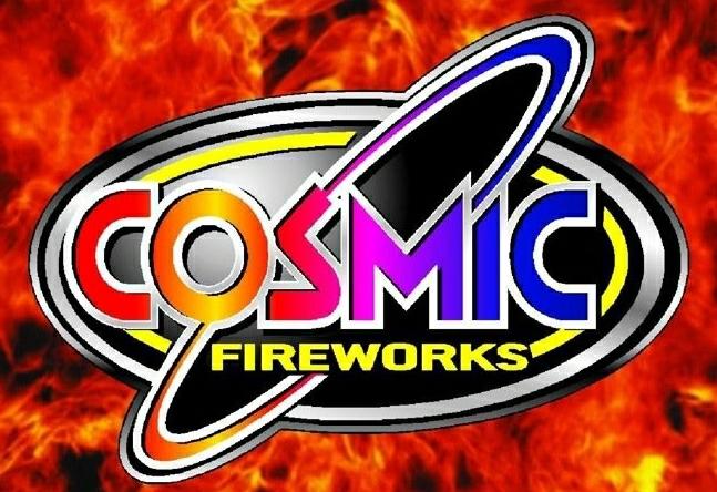 Cosmic Fireworks Logo