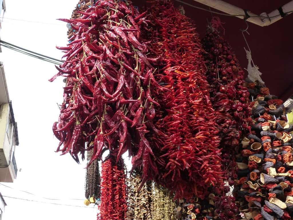 Chillies, Istanbul, Spice Bazaar
