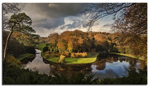 water garden yorkshire fountainsabbey