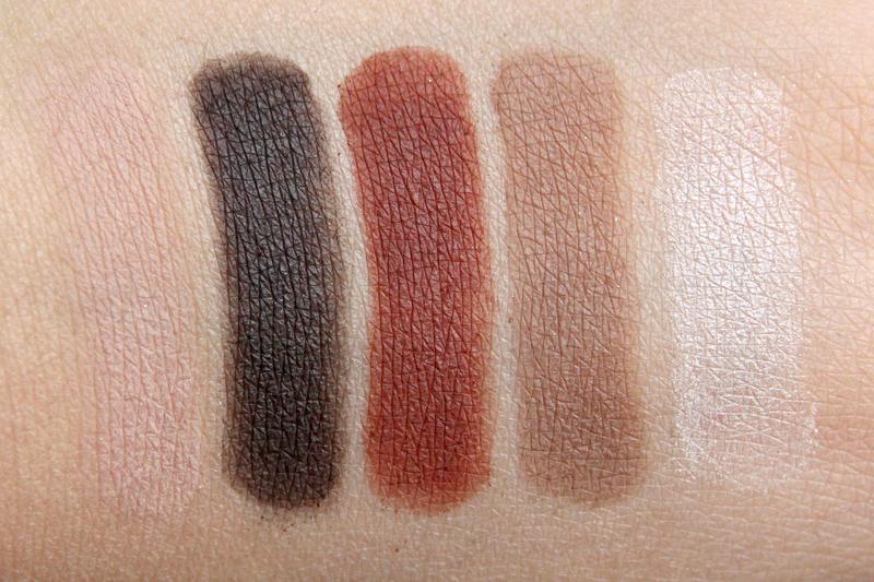 Anastsasia Maya mia eyeshadow palette swatch1