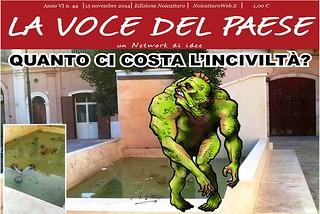 Noicattaro. Prima pagina n. 44-2014 front