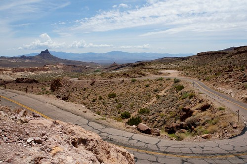 Oatman Road (Route 66), Arizona