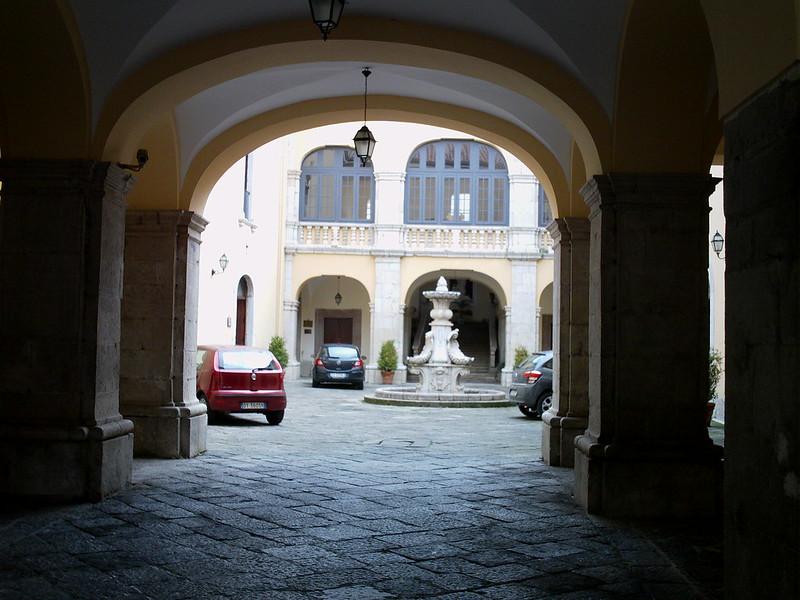 Courtyard, Melfi