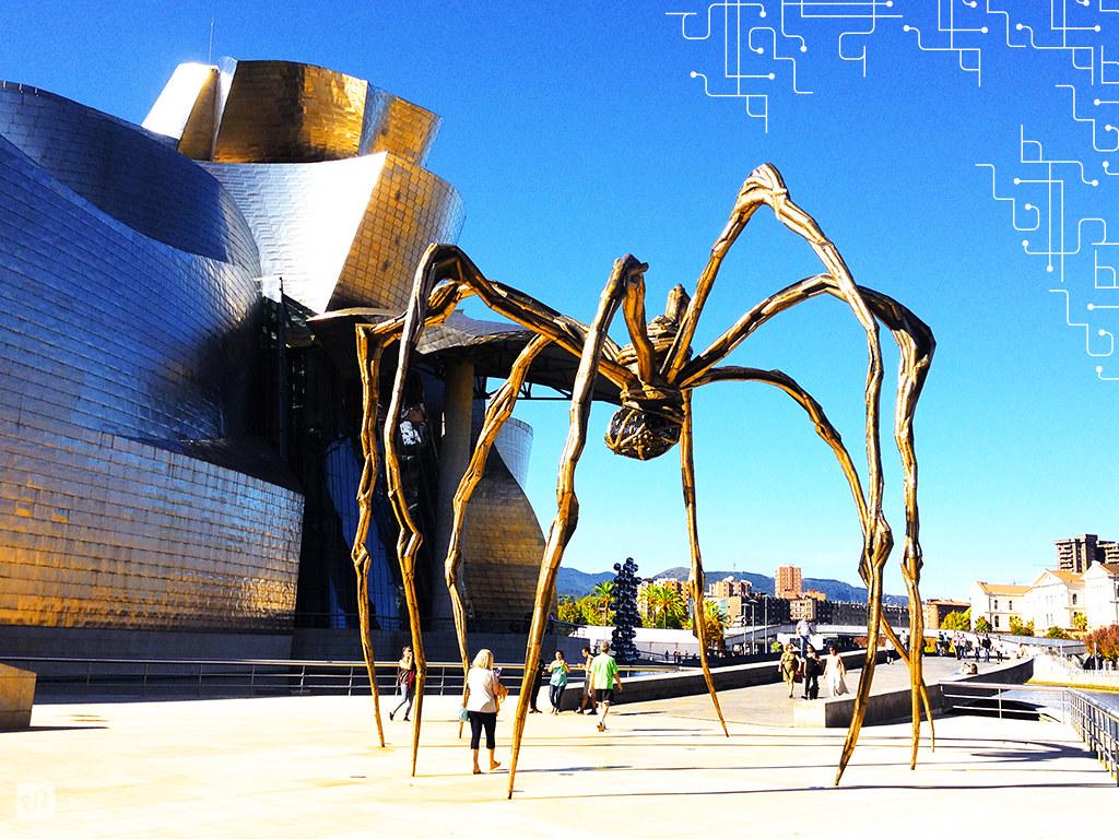 Escultura 'Mamá', de Louise Bourgeois | Bilbao