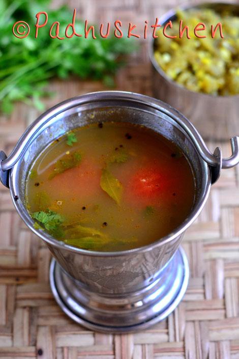 Kollu rasam-Horse gram rasam-Ulava Charu (soup)