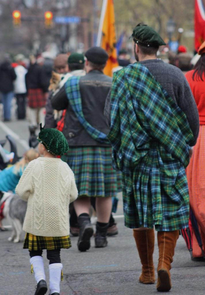 Scottish Walk Father and son
