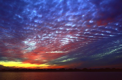blue sunset red usa lake reflection fall nature beauty skyscape landscape colorful unitedstates natural florida horizon shoreline curve cloudscape southflorida afterglow sawgrass naturephotography palmbeachcounty lakescape artisticsunsetphotography holidayblanket
