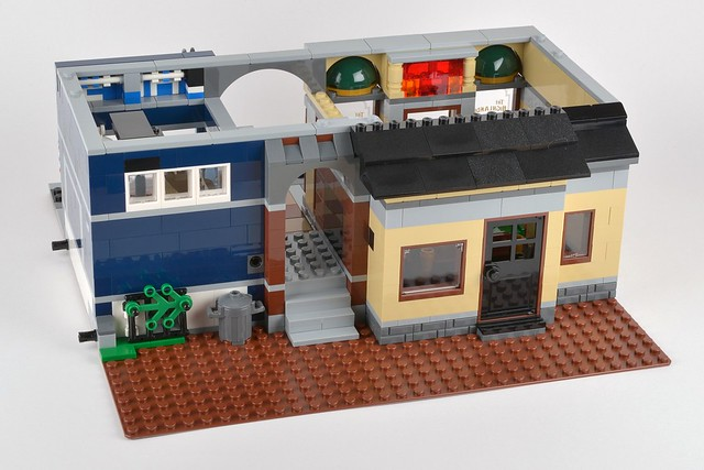 lego detective office instructions