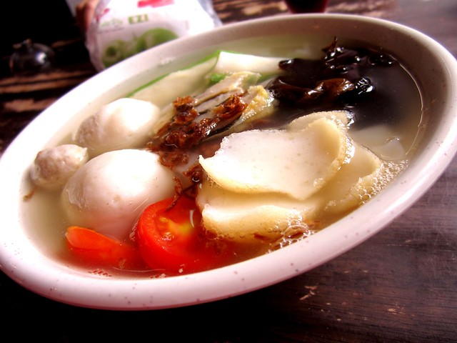 Fish Culture kway teow fish ball soup