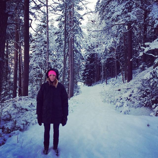 Snöiga hälsningar från Umeå!