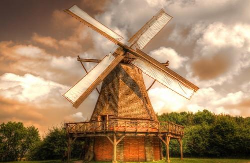 Windmill (Art) Detmold-Germany