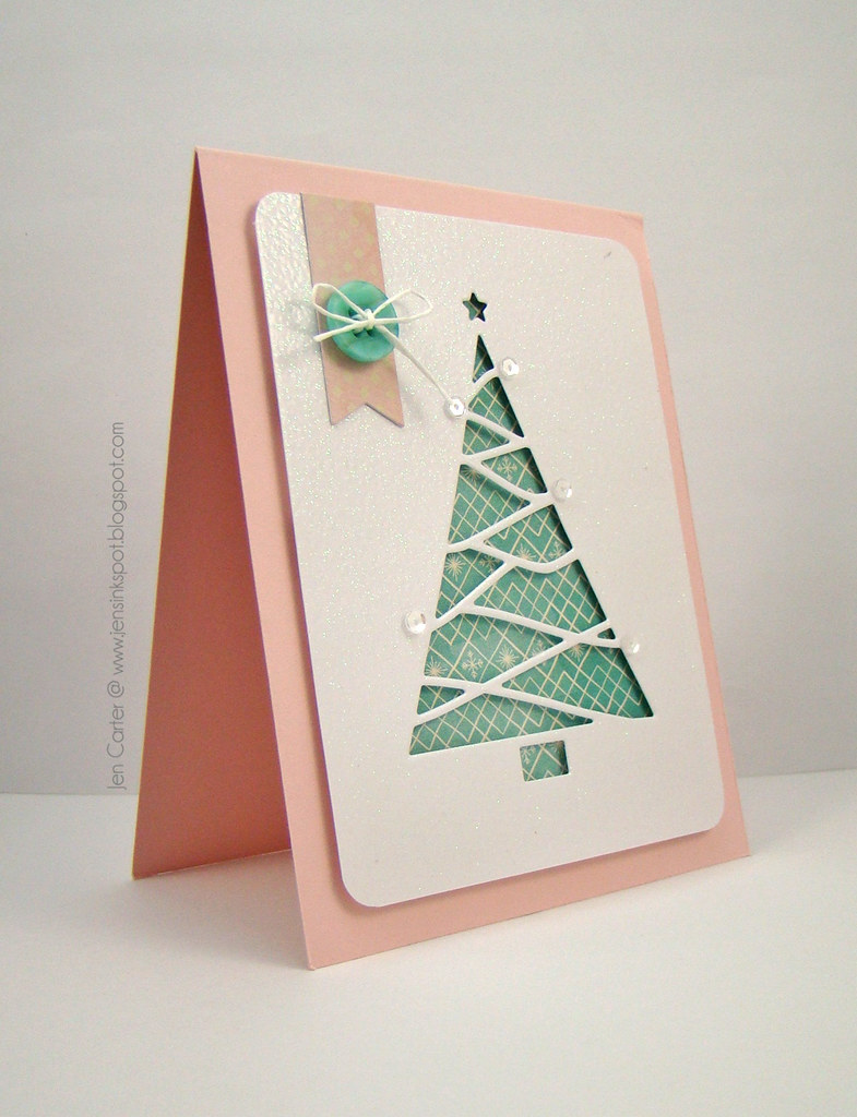 Jen Reverse Cut Triangle Tree Side WM