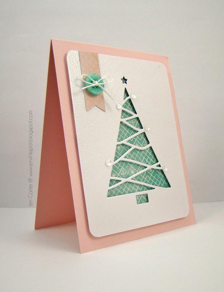 Jen Reverse Cut Triangle Tree Side WM