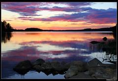 Finland-2014. Iso-Rasti lake