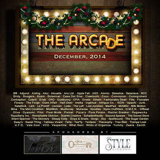 The Arcade - December's Gacha Event Poster