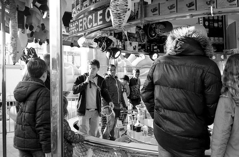 Xmas Market scene - Cannes - France