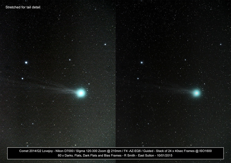 Comet 2014 Q2 Lovejoy by Rupert Smith